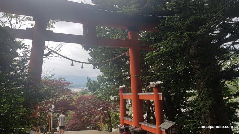 Arakura Fuji Sengen Shrine Tori