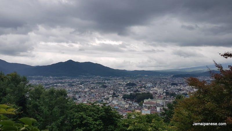 Arakura Fuji Sengen Shrine view