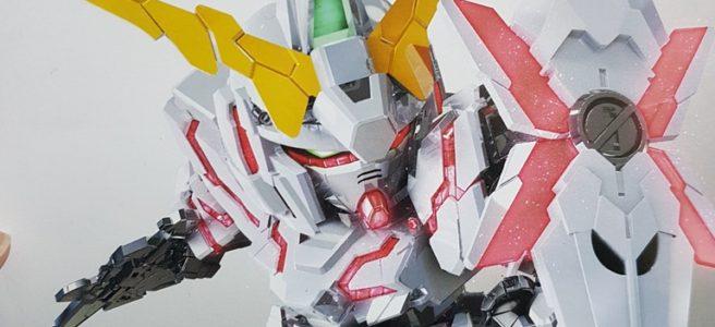 Chibi RX-0 Unicorn Gundam box