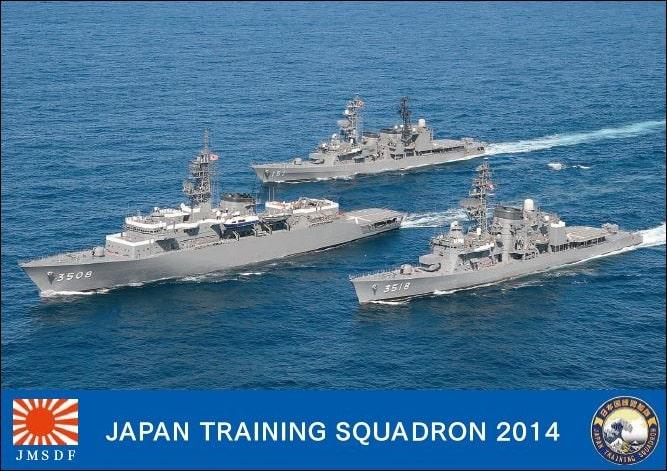 Japan-Training-Squadron-Jamaica