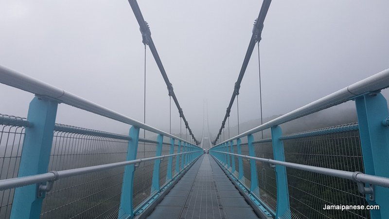 Mishima Skywalk bridge