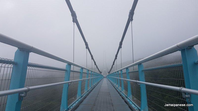 Mishima Skywalk bridge