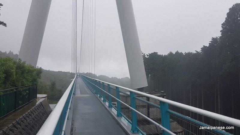 Mishima Skywalk cloudy