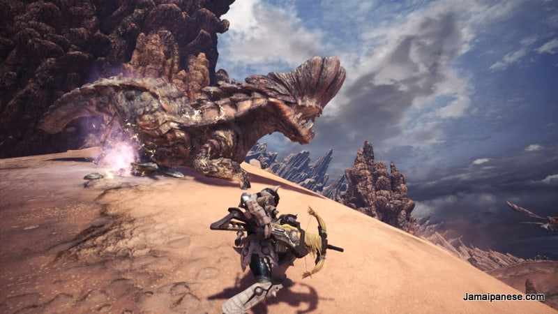 Monster Hunter World Barroth