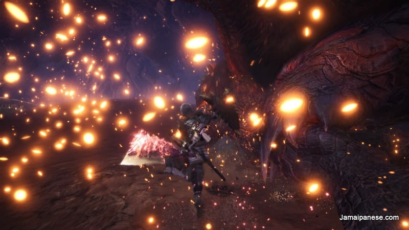 Monster Hunter World Sword and Shield action
