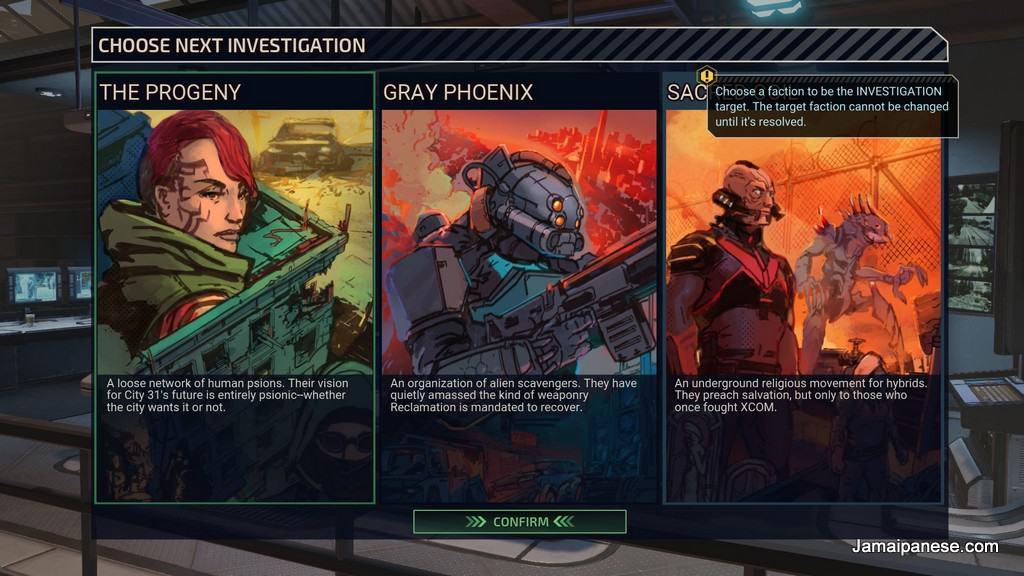 XCOM: Chimera Squad enemy factions
