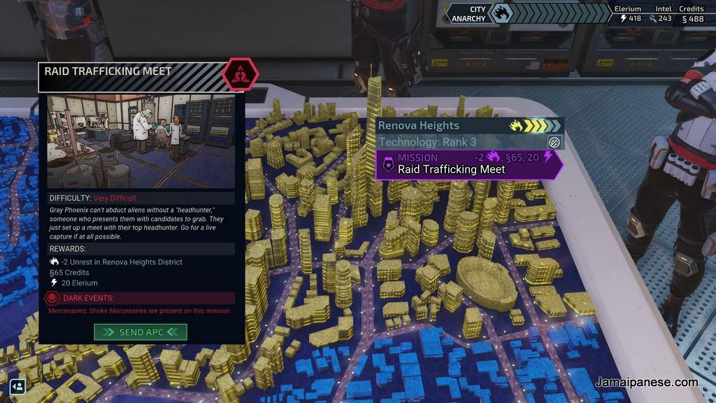 XCOM: Chimera Squad city 31