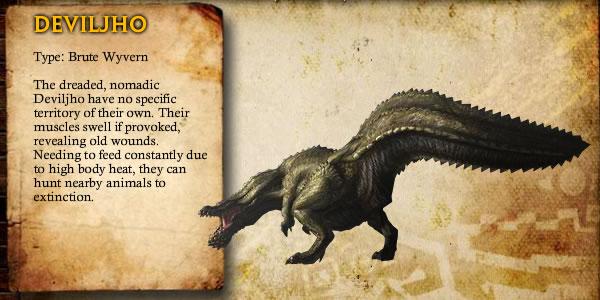 monster hunter tri - deviljho