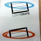 Lootcrate portal sticker - 2