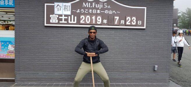 Mount Fuji Hike start
