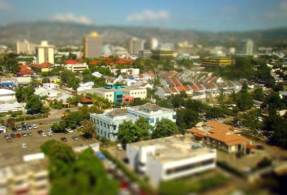 new-kingston-jamaica-tilt-shift