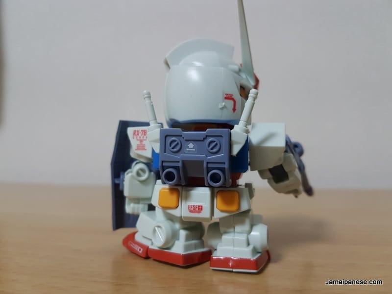 RX-78-2 Gundam back