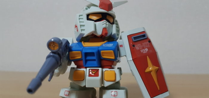 Chibi Rx 78 2 Gundam Jamaipanese