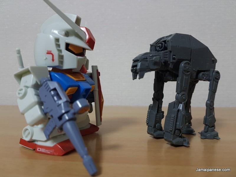 RX-78-2 Gundam x Star Wars AT-M6 Walker