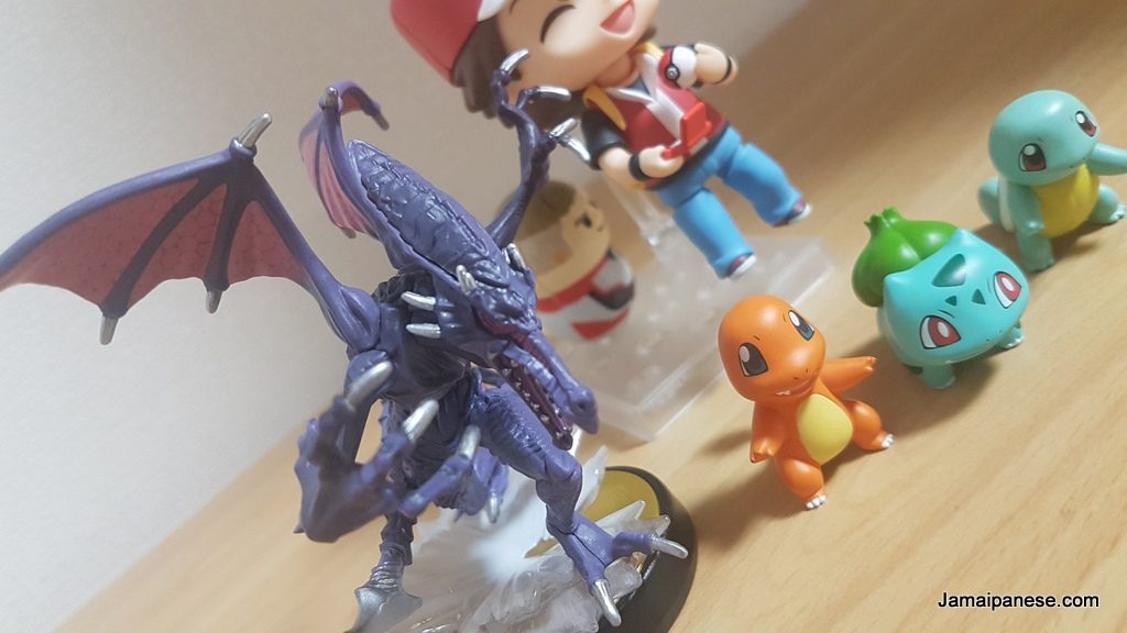 ridley with pokemon