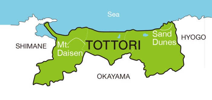 tottori_japan_map